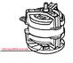 Двигатель для овощерезки Robot Coupe CL50D/CL50D Ultra/CL50E(303080)