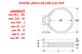 ТЭН (4,9 кВт) RS1150A, KRS032 для печи UNOX XVC 304 Chef TOP. KIT RESISTENZA RS1150A0 D=230 5 SPIRE
