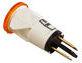 Лампа сигнальная желтая (код 120000006276)