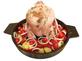 Чугунная сковорода с испарителем для приготовления курицы с гарниром Литтех