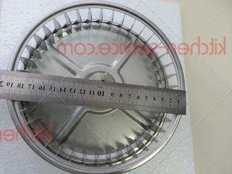 Крыльчатка VN041, KVN007, VN1020 на мотор для печи UNOX. VENTOLA D-196mm H-42mm 38 PALE DADO M8 ELENA-ROSSELLA FAN KIT VN1020A0