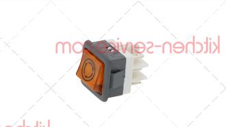 Кнопка запуска цикла оранжевая 250 В, 16 А для COMENDA (130421-OLD)