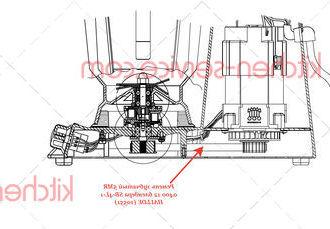 Ремень зубчатый 5MR 0400 12 блендера SB-4L-1 HALLDE (10551)
