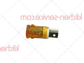 Лампа индикаторная оранжевая для гриля контактного ECOLUN MAGESTIC/PANINI (HEG-813_26)