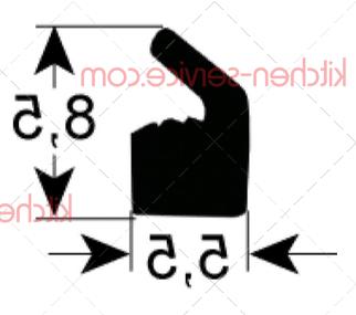 Уплотнение для JUMBO, BOXER, 1м HENKELMAN (0320215)