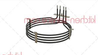 ТЭН 4,25 кВт KRS1040A, RS1040A0, KRS012, RS076 для UNOX. XB-XG-XV HEATING ELEMENT 3200+1050W 230V