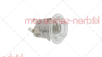 Патрон с лампой G9, 25 Вт, 240 В MODULAR (563.00400)