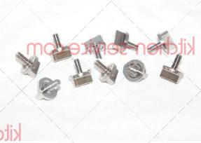 Шпингалет хромиров. 10 шт. S.5 KVM1820A UNOX