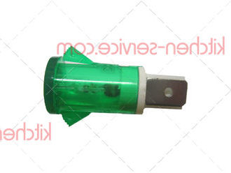 Лампа индикаторная зеленая печи для пиццы ECOLUN E4 (HEP-01-1_Lamp)