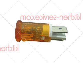 Лампа индикаторная оранжевая для фритюрницы ECOLUN EN 8/88L (HEF-8L 10 lamp)