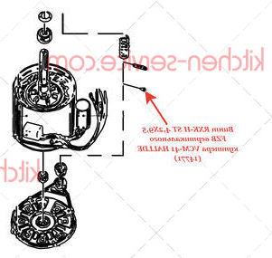 Винт RXK-H ST 4,2X9,5 FZB вертикального куттера VCM-41 HALLDE (14771)