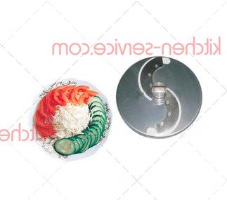 Нож дисковый 2 мм (слайсер) к овощерезкам МПР-350М, МПО-1 ТОРГМАШ