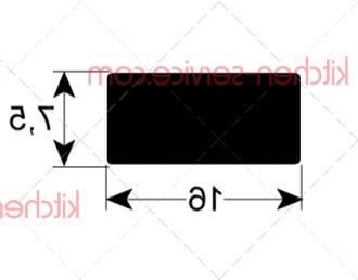 Уплотнитель крышки HENKELMAN (0220200)