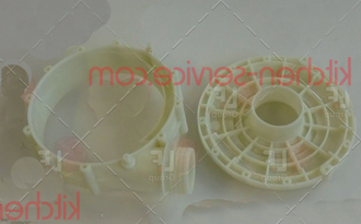 Фланец 6809 (#308) всасывающий для помпы для машины посудомоечной т.м. VORTMAX (ВОРТМАКС) , серии DDM