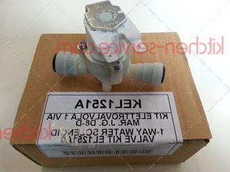 Соленоидный клапан EL1250A0, KEL1251A, KEL1252A для печи  UNOX XVC. 1-WAY WATER SOLENOID VALVE