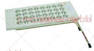 Испаритель в сборе средний для льдогенератора Frimont 78447702