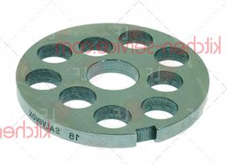 Решетка 100780 для мясорубки TS-TI22 Unger H82, 18мм