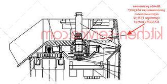 Шайба резиновая уплотняющая 18X30X7 вертикального куттера VCB-32 HALLDE (10259)