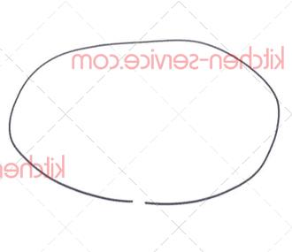 Уплотнитель из губчатой резины 3мм HENKELMAN (0320110)