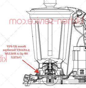 Винт RT-PTF 5.0X20FZ блендера SB-4L-2 HALLDE (14753)