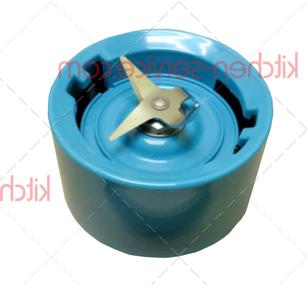 Основание стакана с ножом для KSB5553 (голубой кристалл) KITCHENAID (W10500394)