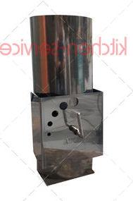 Воздуховод с заслонкой для VESTA