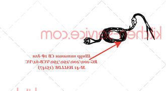 Шнур питания CB 1Ф для RG-100/200/250/350/VCB-61/VCM-41 HALLDE (15147)