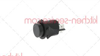 Двухполюсный выключатель черный 16А 250В TECNOEKA (00002630)