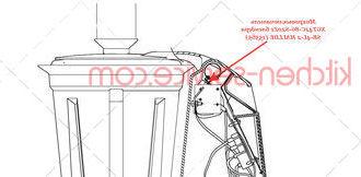 Микровыключатель XGT42C-86-S20Z1 блендера SB-4L-2 HALLDE (15565)