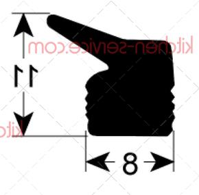Уплотнитель для крышки HENKELMAN (0320214)