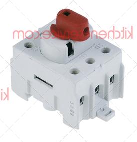 Выключатель поворотный 0-1 HENKELMAN (0220060)