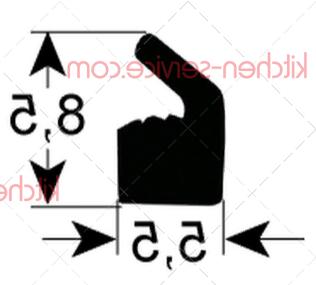 Уплотнитель для крышки HENKELMAN (0320216)