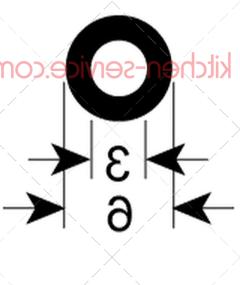 Уплотнитель 6 мм HENKELMAN (0320220)