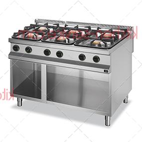 Плита газовая 6 конфорочная 900 серии APRG-129P APACH