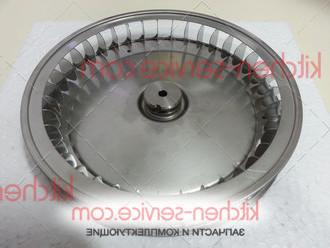Крыльчатка вентилятора KVN011, VN1050A2 для UNOX XF023, UNOX XF130, UNOX XF133, UNOX XF135. FAN D-196mm H-32mm 38 PALE INOX DADO M6