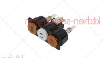 Кнопка вкл/выкл 103330 для машины посудомоечной т.м. VORTMAX (ВОРТМАКС)  модели DDM 660KHP