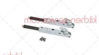 Петля KCR1075B в комплекте для UNOX XF043. L.MICRO DOMENICA HINGES KIT CR1075B0