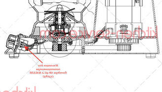 Изоляция для потенциометра блендера SB-4L-2 HALLDE (23184)