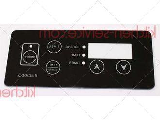 Накладка панели управления для плиты индукционной IN3500S INDOKOR (B0480)