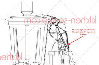 Винт MKFS M4X 10 A2 70 блендера SB-4L-2 HALLDE (14223)