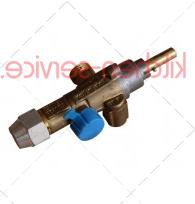 Кран газовый 21SVM9x1 c резьбой М16х1,5 для газа (код 120000002818)