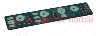 Электронная плата индикации. управляющая PE1050A0, KPE1050A для печи UNOX. CHEFLUX CONTROL BOARD