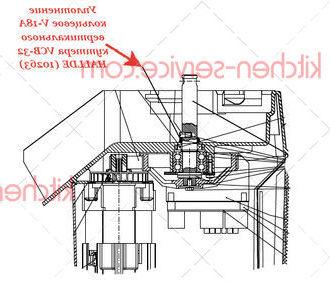 Уплотнение кольцевое V-18A вертикального куттера VCB-32 HALLDE (10263)