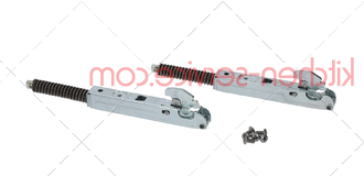 Петля дверная CR1065A, KCR1065A, KCR020 для печи UNOX. L.MICRO ANNA HINGES KIT CR 1065A0