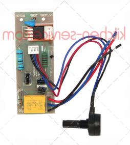 Плата управления в комплекте с потенциометром для миксера HKN-MP160 COMBI HURAKAN