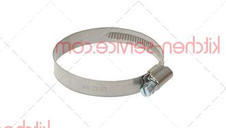 Хомут шланговый нержав.сталь/сталь 50-70мм для ELFRAMO (00004051)