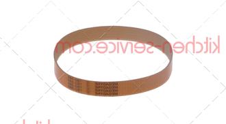 Ремень SV330, 861 (Megadyne TB2-330, 7 ручейков) для слайсера RGV mod. 22-25GL, Sirman, EFFEDUE