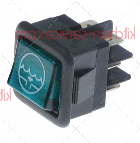 Выключатель балансирный кнопочный для COMENDA (130464)