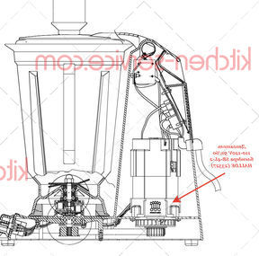 Двигатель 110-120V 50/60 блендера SB-4L-2 HALLDE (23327)