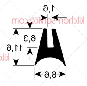 Уплотнитель для стекла 1577 MODULAR (RRC2183-02)